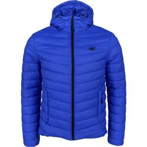 4F MEN´S JACKET tmavě modrá L - Pánská zimní bunda