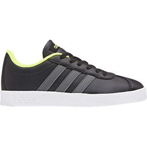adidas VL COURT 2.0 K černá 35 - Dětská obuv