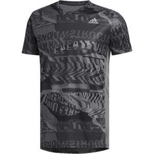 adidas OWN THE RUN TEE černá 2XL - Pánské sportovní tričko