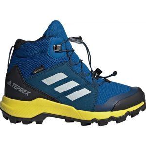 adidas TERREX MID GTX K modrá 33 - Dětská outdoorová obuv