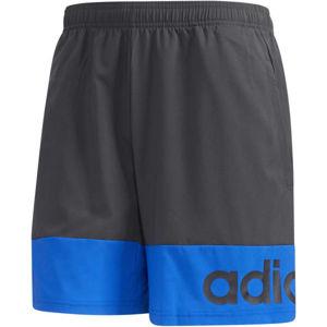 adidas D2M COLORBLOCK SHORT  XL - Pánské kraťasy