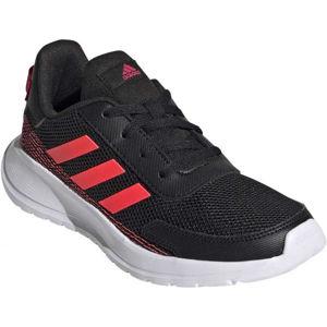 adidas TENSAUR RUN K černá 3.5 - Dětské vycházkové tenisky