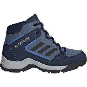 adidas HYPERHIKER K tmavě modrá 34 - Dětská outdoorová obuv