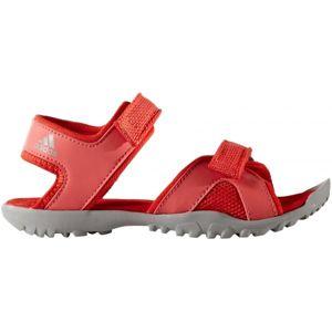 adidas SANDPLAY OD K červená 32 - Dětské sandály
