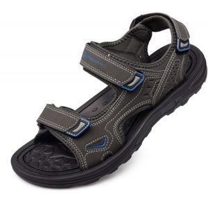 ALPINE PRO ANDER hnědá 45 - Pánská letní obuv