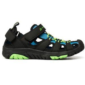ALPINE PRO EAKY modrá 34 - Dětská letní obuv