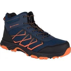 ALPINE PRO JACOBO MID oranžová 40 - Dětská outdoorová obuv