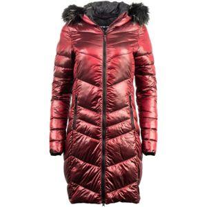 ALPINE PRO RAMA červená XS - Dámský kabát