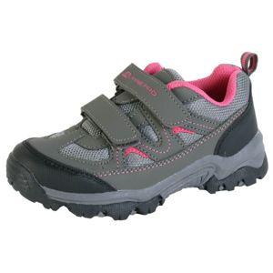 ALPINE PRO LIONO šedá 34 - Dětská outdoorová obuv