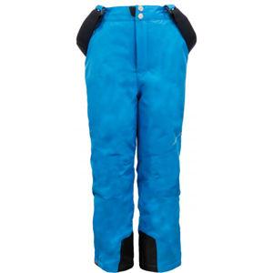 ALPINE PRO MEGGO modrá 140-146 - Dětské lyžařské kalhoty