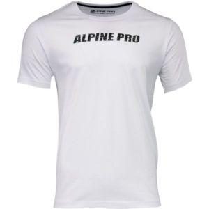 ALPINE PRO LEMON zelená XXL - Pánské triko