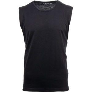 ALPINE PRO ARKEL černá XXL - Pánské triko