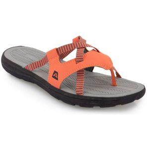 ALPINE PRO RUSTY oranžová 41 - Dámská letní obuv
