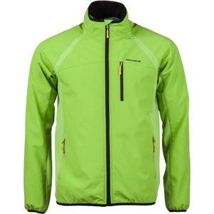 Arcore MARCUS zelená L - Pánská softshellová bunda