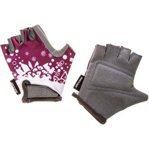 Arcore PKG -163 fialová 6 - Dětské cyklistické rukavice