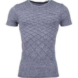 Arcore GREY černá XXL - Pánské bezešvé triko