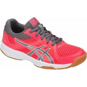 Asics UPCOURT 3 GS červená 6 - Dětská volejbalová obuv