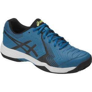 Asics GEL GAME 6 CLAY modrá 9 - Pánská tenisová obuv