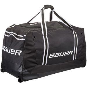 Bauer 650 WHEEL BAG S černá NS - Hokejová taška s kolečky