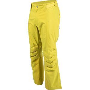 Bergans HEMSEDAL HYBRID PNT žlutá XL - Pánské lyžařské kalhoty