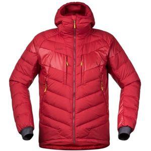 Bergans NOSI HYBRID DOWN JKT červená L - Pánská zateplená bunda