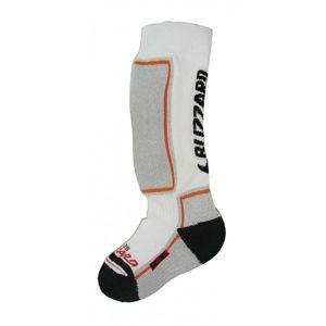 Blizzard Ski socks junior bílá 24-26 - Dětské podkolenky
