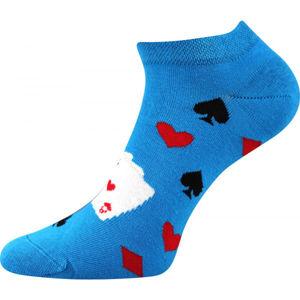 Boma PETTY 010 modrá 39-41 - Nízké ponožky