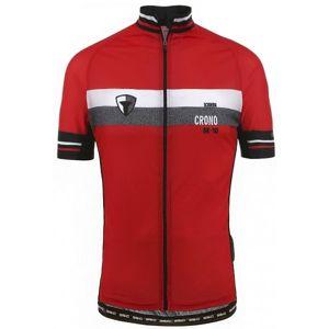 Briko MAGMA BK 10 červená XXXL - Cyklistický dres
