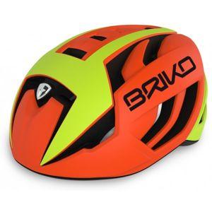 Briko VENTUS žlutá (53 - 58) - Cyklistická helma