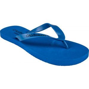 Calvin Klein FF SANDALS modrá 41/42 - Pánské žabky