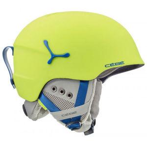 Cebe SUSPENSE DELUXE zelená (54 - 56) - Dětská lyžařská helma