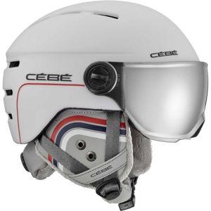 Cebe FIREBALL JR bílá (51 - 53) - Dětská helma se štítem