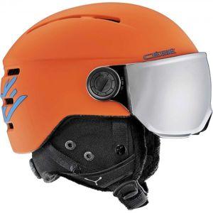 Cebe FIREBALL JR oranžová (51 - 53) - Dětská helma se štítem
