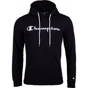 Champion HOODED SWEATSHIRT černá M - Pánská mikina