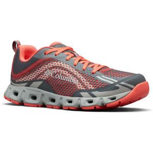 Columbia DRAINMAKER IV červená 9.5 - Dámské sportovní boty