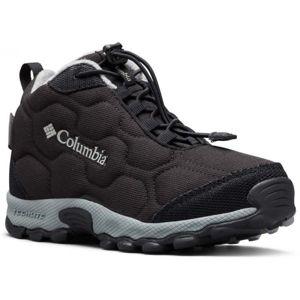 Columbia YOUTH FIRECAMP MID 2 WP černá 7 - Dětské trekingové boty