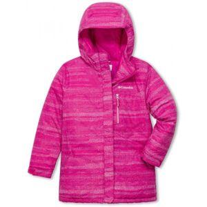 Columbia ALPINE FREE FALL II JACKET růžová XS - Dívčí zimní bunda