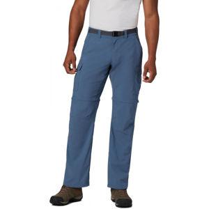 Columbia CASCADES EXPLORER CONVERTIBLE PANT modrá 38 - Pánské outdoorové kalhoty