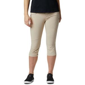 Columbia PEAK TO POINT KNEE PANT béžová 10 - Dámské outdoorové 3/4 kalhoty