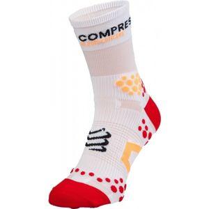 Compressport RUN HI V2.1 červená T1 - Kompresní ponožky