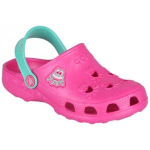 Coqui LITTLE FROG růžová 31/32 - Dětské sandály