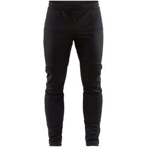 Craft GLIDE černá S - Pánské zateplené softshellové kalhoty
