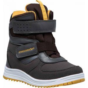 Crossroad CARAT šedá 31 - Dětská zimní obuv