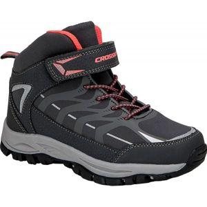 Crossroad DINEX černá 35 - Dětská treková obuv