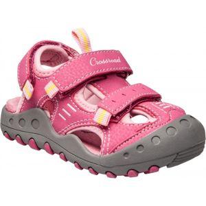 Crossroad MAGIC II růžová 33 - Dětské sandály