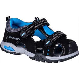 Crossroad MIRABEL černá 25 - Dětské sandály