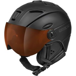 Etape COMP PRO tmavě šedá 61-63 - Unisex lyžařská přilba s visorem