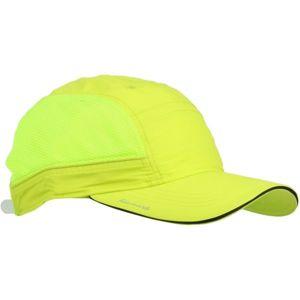 Finmark LETNÍ ČEPICE žlutá UNI - Letní sportovní čepice