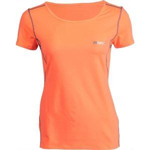 Fitforce CARMEN oranžová XL - Dámské fitness triko