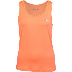 Fitforce ANDREA oranžová XL - Dámské fitness tílko